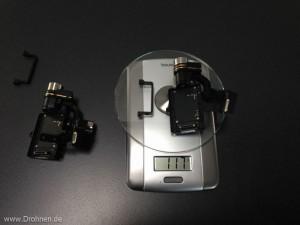 Gewicht Zenmuse H3-2D Version2
