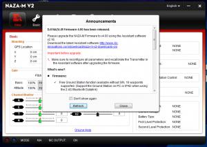 DJI NAZA M V1 und V2: Firmware-Update 4.0