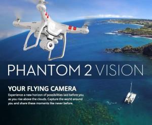 Ab Anfang November ist die DJI Phantom 2 Vision erhältlich. Sie punktet vor allem durch die verlängerte Flugzeit und das hochauflösende Kamerasystem.