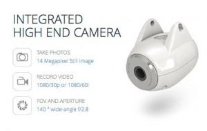 Das hochauflösende Kamerasystem ist das Herzstück der DJI Phantom 2 Vision.