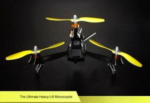 Pocket Drone: Nur drei Propeller und dennoch so leistungsfähig wie DJI Phantom und Co. Foto: airdroids.com