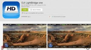 Das integrierte On Screen Display vereinfacht die Benutzung und gibt in Echtzeit Auskunft über wichtige Telemetriedaten. Auch in der DJI Lightbridge One-App können Telemetriedaten angezeigt werden.