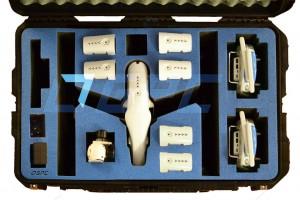 Ein Transportkoffer für den DJI Inspire 1 hat es in sich: GPC (GoProCases.com) bietet aktuell einen Koffer für 469 US-Dollar an, der reichlich Stauraum für Kopter und allerhand Zubehör bietet.