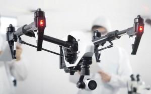 Im vergleich: der Dji Inspire 1 Quadrocopter