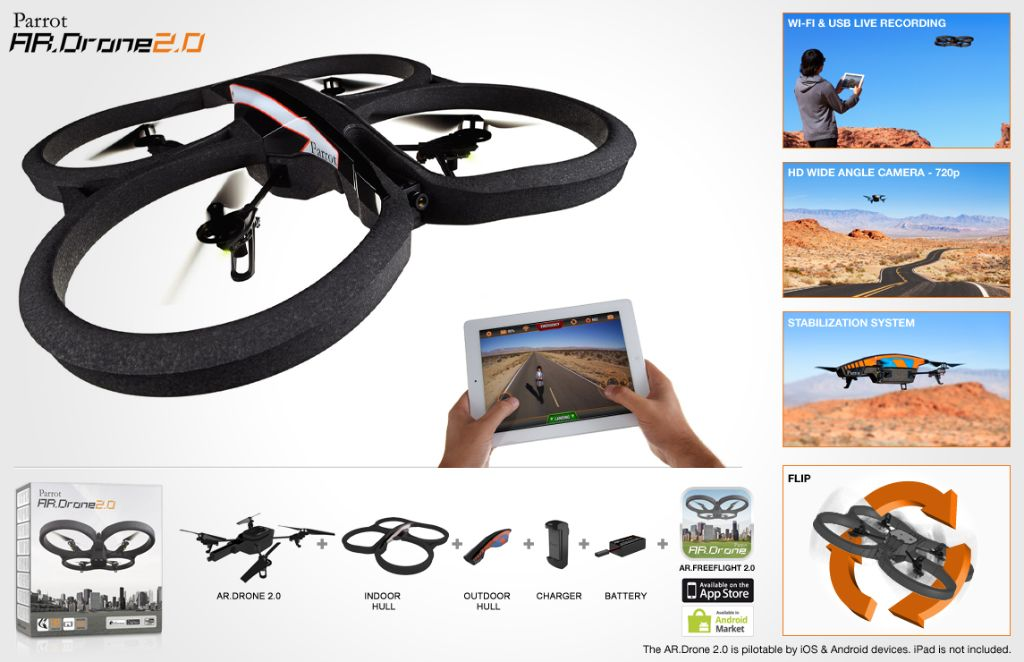 Parrot AR-Drone 2.0