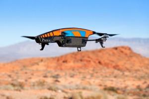AR.Drone 2.0 mit Outdoor-Hülle