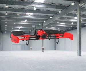 Indoor fliegt man mit zusätzlichem Propellerschutz