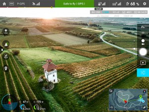 FPV-Bilddarstellung in HD via App