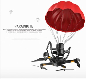 Fallschirm Hubsan Quadcopter