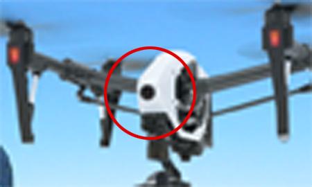 DJI Inpire 2 - FPV Camera