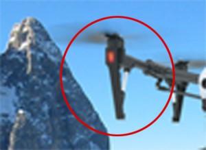 DJI Inpire 2 - extended landing legs