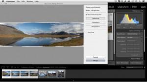 Ein Tutorial auf https://helpx.adobe.com zeigt, wie Panoramen in Lightroom CC / Lightroom 6 spielend einfach und nahtlos aus mehreren Aufnahmen zusammengefügt werden können. (Screenshot: Adobe.com)