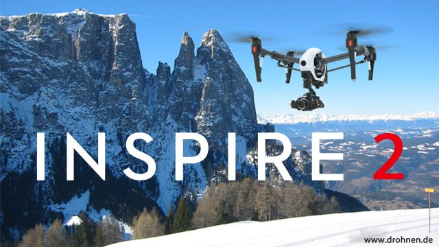 Dji Inspire 2 - speculations prior to the official release