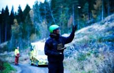 Auch bei Rettungseinsätzen könnte die Mini-Drohne zum Standard-Equipment gehören.