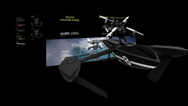 Parrot Hydrofoil Drone Orak Packaging