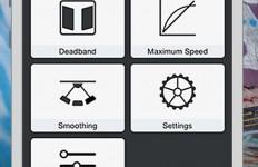 DJI Ronin-M- und DJI Ronin-Smartphone-App.