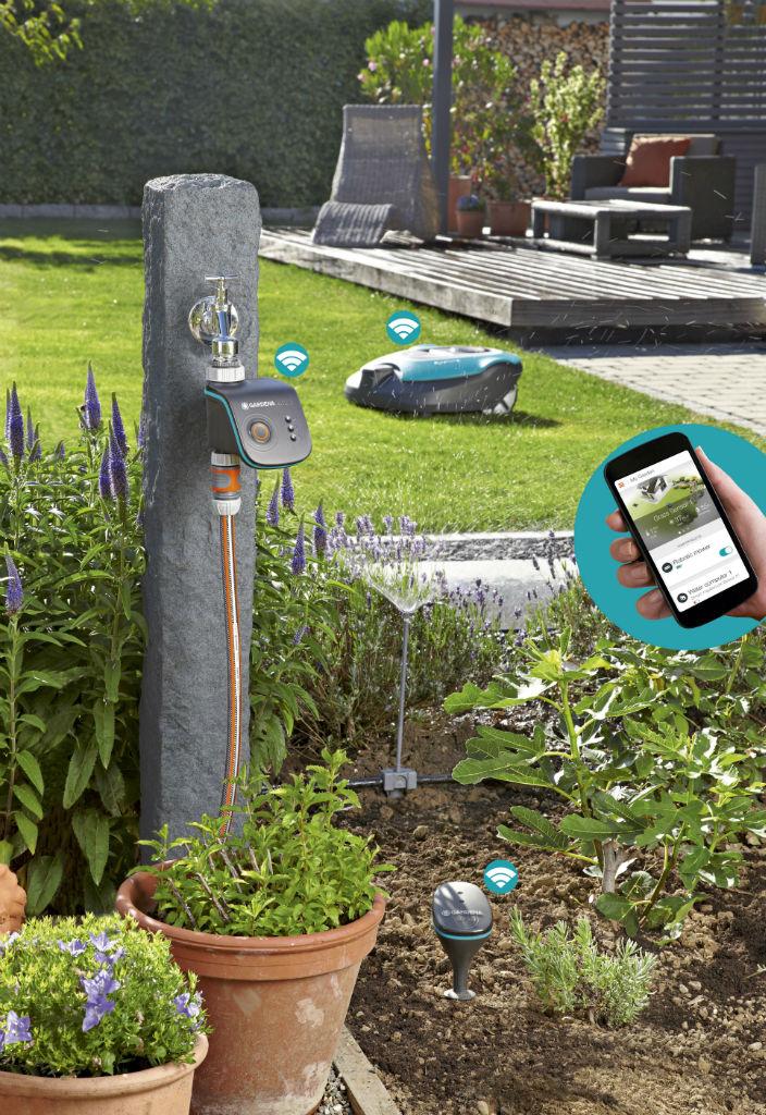 gardena smart garden smart home. Black Bedroom Furniture Sets. Home Design Ideas