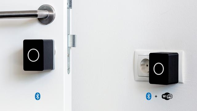 nuki t rschloss smart door lock smart home. Black Bedroom Furniture Sets. Home Design Ideas