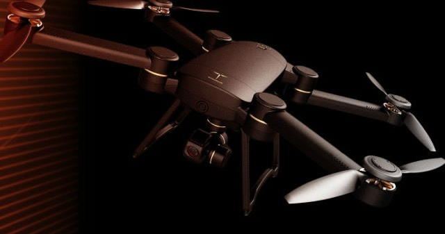 ProDrone Byrd Quadrokopter Hohes Abfluggewicht Fur DSLRs Und Co