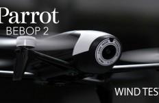 Parrot Bebop 2 Wind Test.