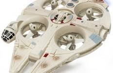 4 Propeller sorgen bei der Quad-Variante für Auftrieb. Zudem erleichtert ein integriertes Gyroskop die Steuerung des Quadrocopters.