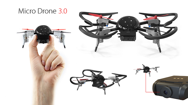 micro drone 3 0 extreme fliers. Black Bedroom Furniture Sets. Home Design Ideas