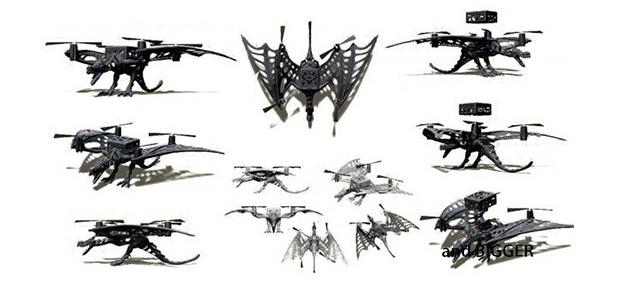Micro-Drone-Frames