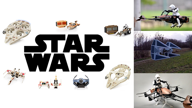 Star Wars Drones & Roboters