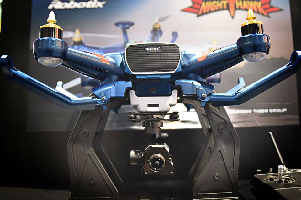 TTRobotix Nighthawk. Foto: facebook.com/ThunderTigerMulticopter