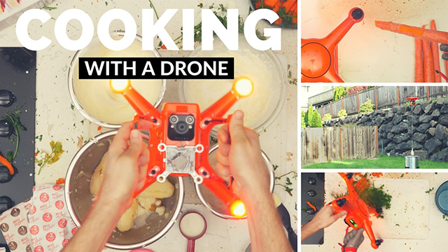 cooking-with-a-drone