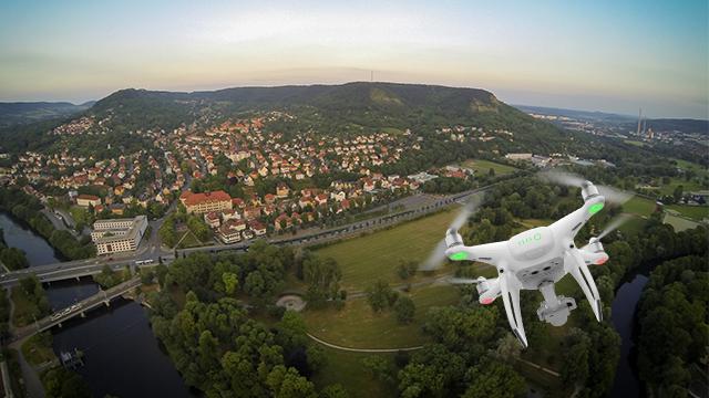 Drohnen: Mindestabstand zu Wohngebieten / Wohngrundstücken und Städten?