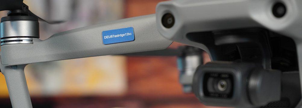 eID Drohnen Kennzeichen Plakette EU Drohnenverordnung