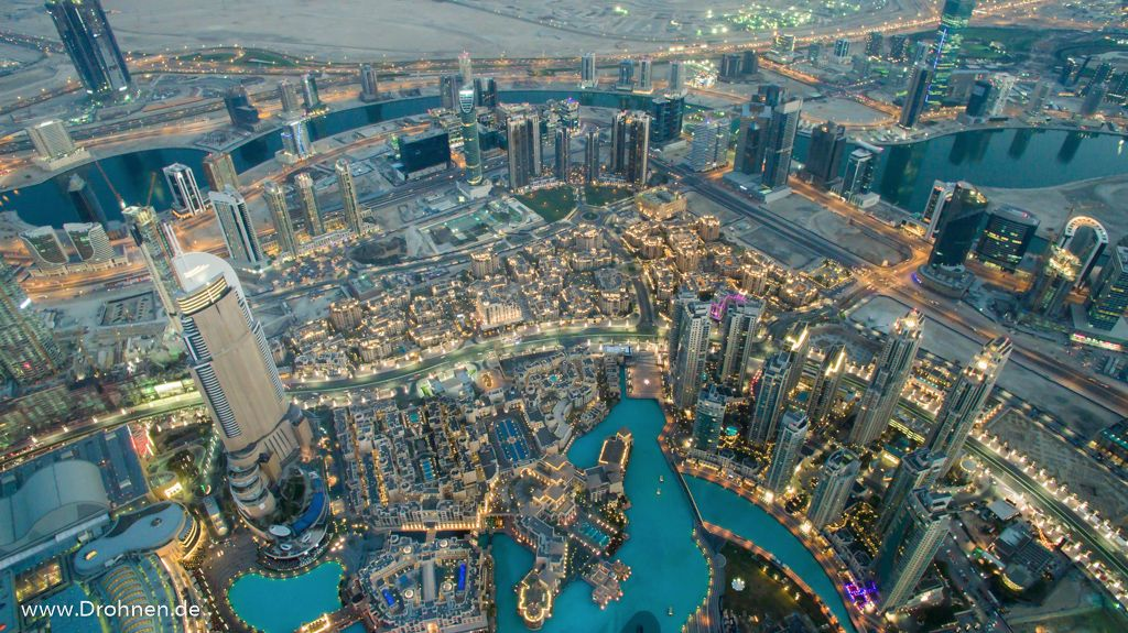 Drohne Dubai