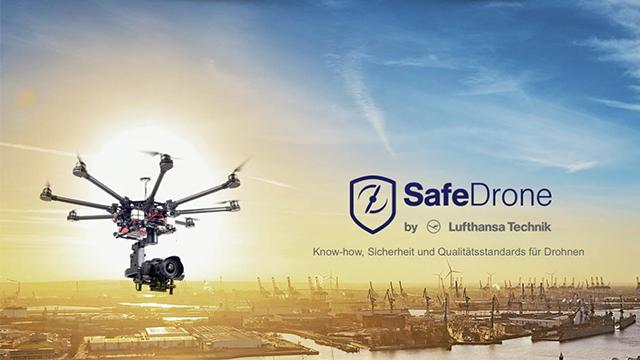 SafeDrone: Zertifikat und Schulung der Lufthansa Technik