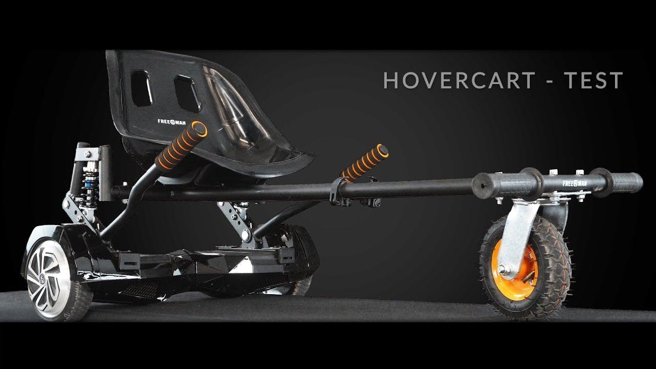 hoverkart hoverboard von freeman hoverseat test und. Black Bedroom Furniture Sets. Home Design Ideas