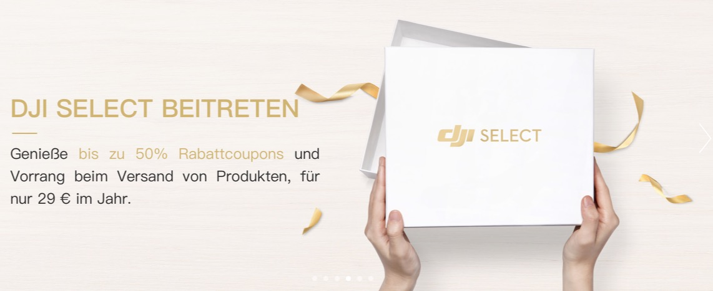 DJI Select | Coupons, Rabatte und Deals