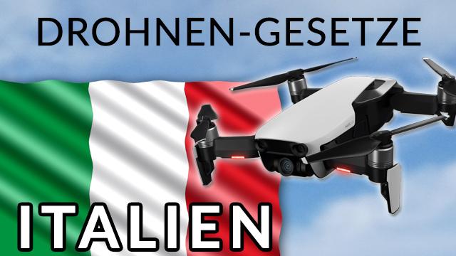 Drohne und Urlaub in Italien: Gesetze und Regeln