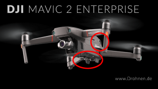 DJI Mavic 2 Enterprise Hinderniserkennung Sensoren