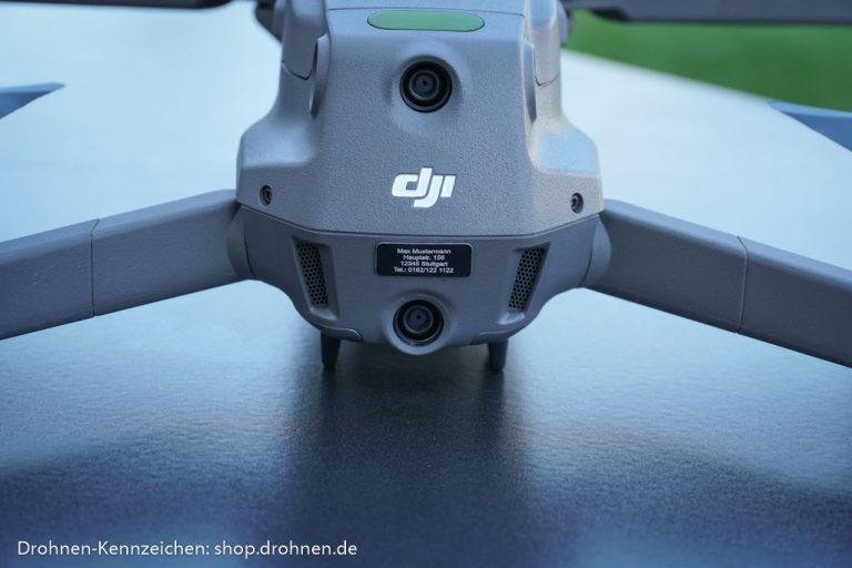 Drohnen-Kennzeichen Mavic 2 (Pro / Zoom)