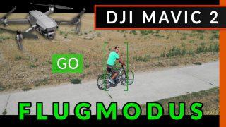 DJI Mavic 2 Flugmodus