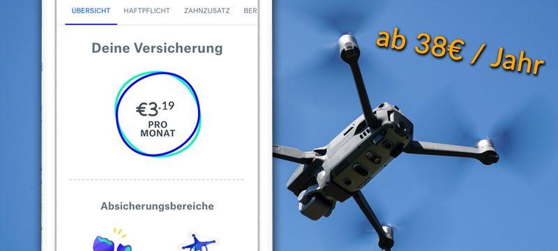 Drohnenversicherung getsafe Haftpflicht