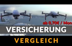 günstige Drohnen Versicherung