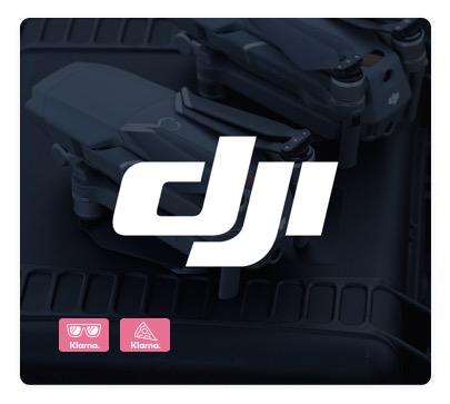 DJI bietet ab sofort den Klarna-Rechnungskauf und Klarna-Ratenkauf im offiziellen DJI Online Store an.