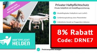Haftpflicht Helden Code Rabatt (Drohnenversicherung / Haftpflicht)