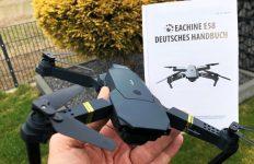 DroneX Pro deutsche Bedienungsanleitung Handbuch Eachine E58