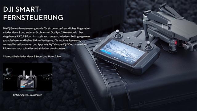 Update: DJI Smart Controller nun mit DJI Mavic Air 2 kompatibel