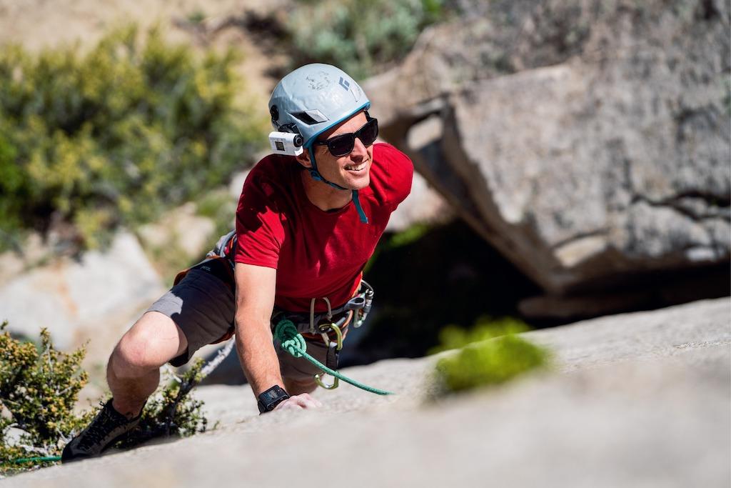 Sony FDR-X3000R – Action-Kamera beim Bergsteigen