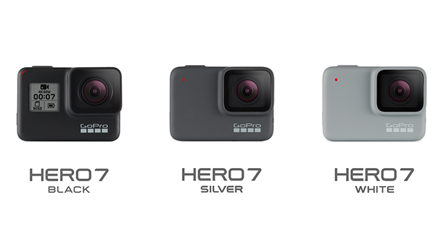 34144f92359 Vergleich: GoPro HERO 7 Black vs. Silver vs. White