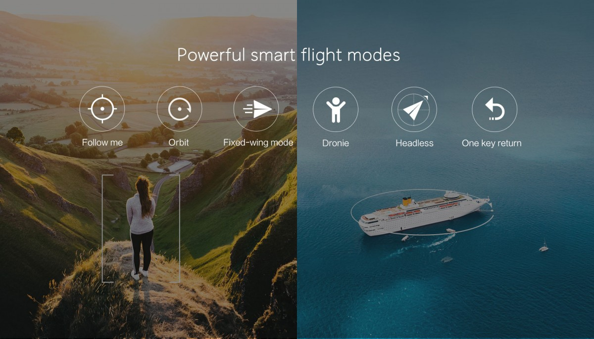 Xiaomi FIMI A3 Intelligent Flight Modes
