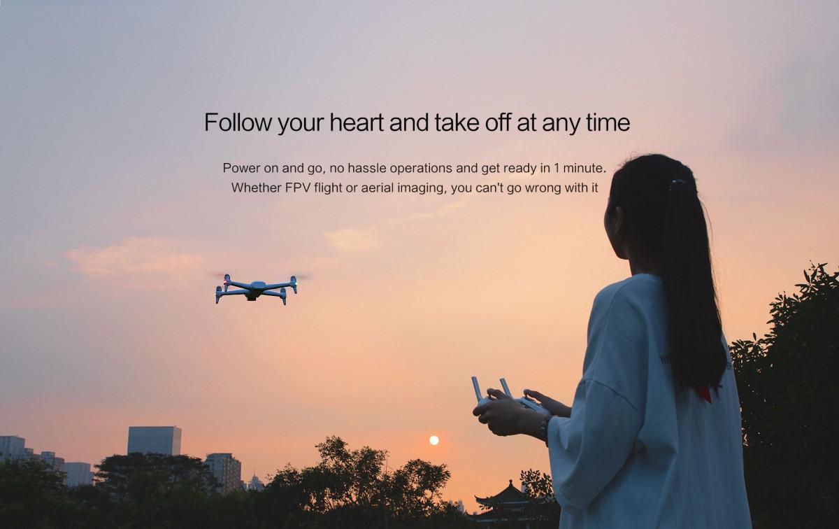 Xiaomi FIMI A3 Auto Takeoff Auto Landing